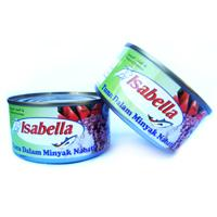 Isabella Tuna In Vegetable Oil