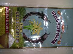 Super sacks laminated metalizer catfish