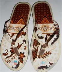 Sandals Batik Japit Lancip