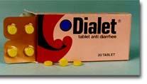 Dialet, anti diarrhea tablets