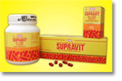 Supravit Vitamins, sugar coated caplets