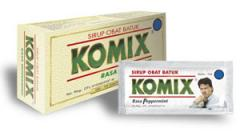 Komix cough syrup
