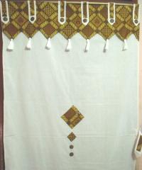 Сalico curtains