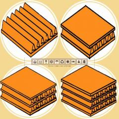 Type of materials to choose cardboard for