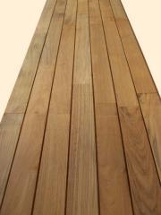 Teak Outdoor Flooring T&G
