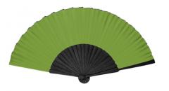 Modern fan  plain silk
