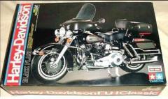 Tamiya 1:6 Harley Davidson Classic FLH Black New