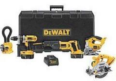 DeWalt-5-Piece Combo Kit 18 Volt XRP Cordless