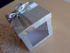 Cake Giftbox With Ribbon