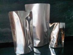 Standing pouch alumunium foil