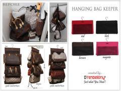 Hanging Bag Keeper