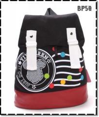 Blackred backpack