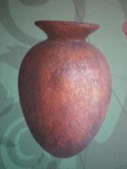 Products made of terracotta pottery, antique