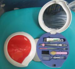 Manicure padicure compact oval