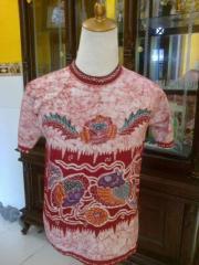 Fish Motif Batik T-Shirt