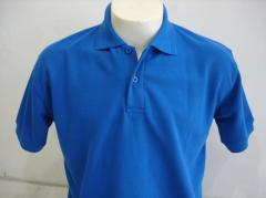 Plain Polo Shirt Blue Benhur