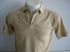 Polo Shirt Plain Khaki Brown