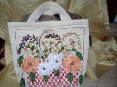 Ribbon embroidery bags 2