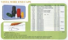 Vinyl Wire End Caps