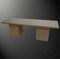 Dining table big leg