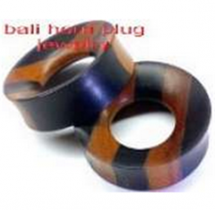 Wood Plugs Organic Body Piercing