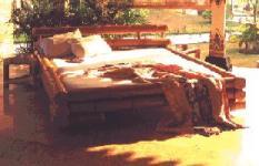 Furniture Bambu Madura Bed Set