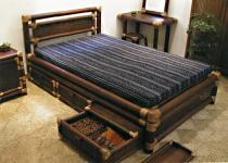 Furniture Bambu Ubud Bed Set