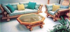 Furniture for vestibules bambu Linda Set