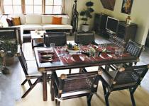 Furniture bambu Kupang Dinning Set
