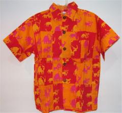 Boy Shirt Patchwork
