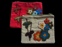 Embroidered Pocket, bag