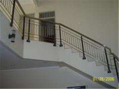 Staircase railing