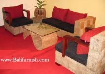 Indonesian sea grass sofa