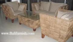 Woven Sea Grass Furniture Set from Java