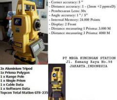 New Topcon Total Station GTS 235N