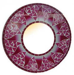 Mirror Rounded Plate