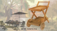 Cocktail Tea Trolley