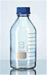 Bottle laboratory clear glass