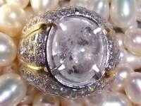Platina white amethyst