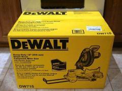 DeWalt DW715 Heavy-Duty 10 Amp 12-Inch Compound