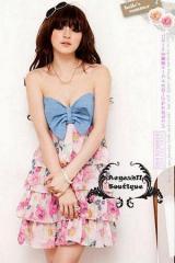Magazine Style Dress KOR 007