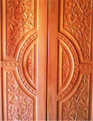 Doors double leaf