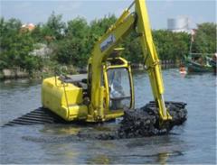 Excavator Amphibious