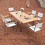 Amarillo and New Jersey Ext Table Set