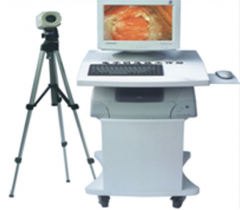 Colposcope work station