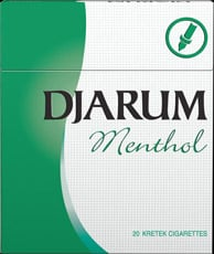 Djarum Menthol cigarettes - the blend of select