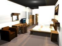 Вed room set hotel