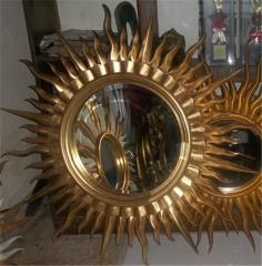 Mirror Matahari Gold