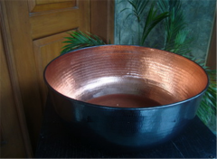 Basin copper