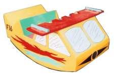 Оscillation plane toy